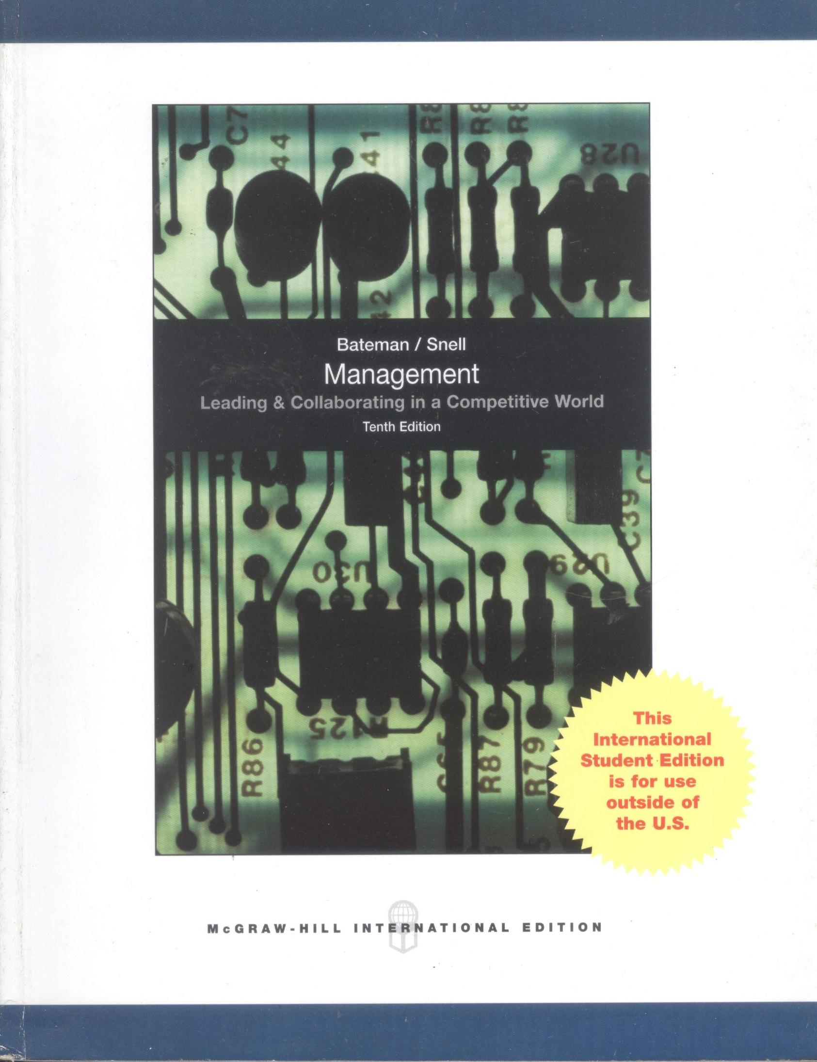 management 10th edition bateman snell mcgraw hill pdf Free pdf download now management 10th edition bateman snell mcgraw hill related searches for management tenth bateman snell management by bateman snell.